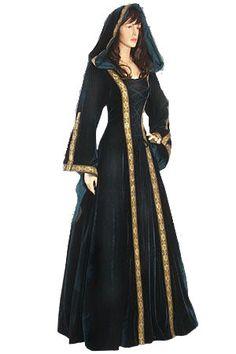 Ladies Medieval Renaissance Costume http://www.pinterest.com/linneakar/medieval-vintage-etc/