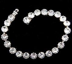 Regency Rhinestone Tennis Bracelet