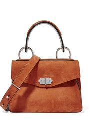 d15a781d61 Proenza Schouler Hava small suede shoulder bag Camel Purses