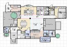 間取り4『サンルーム(室内物干し場)』 | ぐうたら夫婦の素敵と便利が両立する家