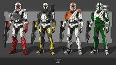 GC-Conceptart - Professional, Digital Artist | DeviantArt Mass Effect Crossover, Star Wars Clone Wars, Squad, Deviantart, Transformers, Stars, That Look, Digital, Artist