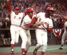 Cincinnati Reds World Series History Baseball Photos, Baseball Cards, Baseball Stuff, Cincinatti, George Foster, Mlb Uniforms, America's Favorite Pastime, Johnny Bench, Cincinnati Reds Baseball