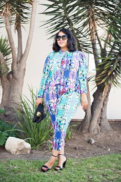 We just love @gabifresh's matchy-matchy #CutForEvans look. How would you wear it? #SpottedInEvans