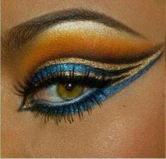 Egyptian Costume Makeup Idea
