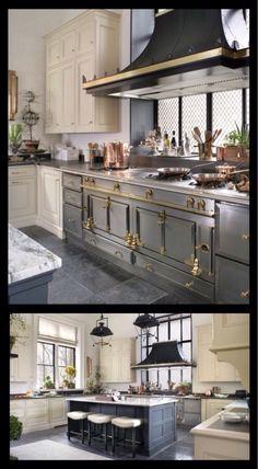 Industrial Farmhouse Kitchen Georgianadesign Canterbury Design Interiors Morristown NJ