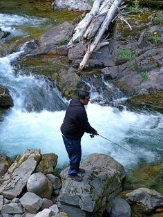 Fishing on Skate Creek