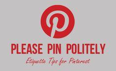 Pinterest Etiquette
