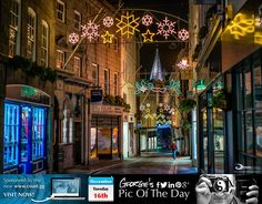 Could this be the last year for Christmas lights in St Peter Port? Christmas light charity needs donations to keep lights on http://www.stppcons.com/news.html #LoveGuernsey  Picture Ref: 16_12_14 — at St. Peter Port, Guernsey, Channel Islands.