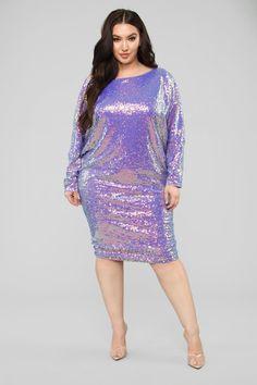 b28e6f4b3cb Gonna Love Me Dress - Purple. Wearing PurplePlus Size ...