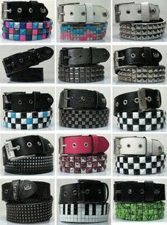 Aw man,i love pyramid stud belts. I REALLY need to get some before school starts