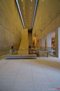 Osaka Prefectural Sayamaike Museum by Tadao Ando