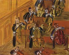 Raoul Dufy - Violoncelles