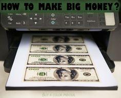 How to make big money?