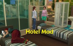 Hotels v1.5 mod by simmythesim at Mod The Sims via Sims 4 Updates