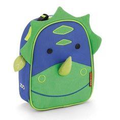 Volta às Aulas - Material Escolar - Lancheira Zoo Dino Lateral - Baby Stuff