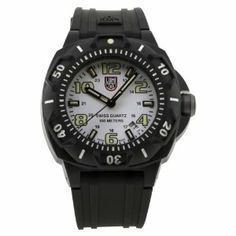 Luminox Men's 0207.SL Stainless-Steel Analog Plastic Bezel Watch Luminox. $160.66. Case diameter: 45 mm. Water-resistant to 330 feet (100 M). Stainless steel case. Quartz movement. Scratch resistant mineral. Save 36%!