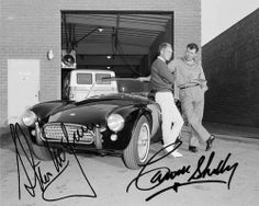 Steve McQueen and Carol Shelby - two iconic classics.