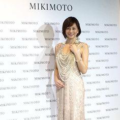 日本女星米倉良子戴著超過 2 億日元的 @mikimoto_official Mikimoto 高級珠寶出席品牌於銀座四丁目總店開幕禮#mikimoto #米倉涼子 #ryokoyonekura #grandopening #finejewelry #ginzamikimoto #ginza #harpersbazaarhk #bazaarhk #vc  via HARPER'S BAZAAR HONG KONG MAGAZINE OFFICIAL INSTAGRAM - Fashion Campaigns  Haute Couture  Advertising  Editorial Photography  Magazine Cover Designs  Supermodels  Runway Models