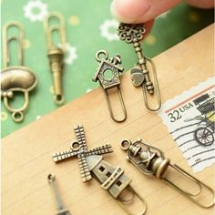 8 pcs/lot vintage metal bookmark material escolar bookmarks for book kawaii stationery zakka school supplies papelaria-in Bookmark from Office & School Supplies on Aliexpress.com | Alibaba Group