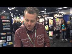 ▶ CHA2015 - Ranger Ink - Tim Holtz - New Distress Program and Cracked Pistachio - YouTube