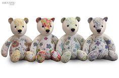Taunina Teddy Bears , luxury soft toys - More on www.identitebook.com
