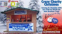 Crazy Charity Christmas ist der etwas andere Punschstand beim Charity Weihnachtsmarkt am 15.12.2018 Für alle, die gerne für den guten Zweck feiern und Freunde treffen, die optimale Gelegen etwas Gutes zu tun, die Weihnachtsmusik aber nicht mehr hören können, gibt's bei uns jede Stunde nur einen Weihnachtssong! Gerne können die stündlichen Weihnachtssongs auf Facebook  gewünscht werden. Jeder kann sich wünschen was er will, wir spielen was wir wollen.  Wir sind mit Musik und guter Laune… Broadway Shows, Facebook, Christmas Music, Good Mood, December, Playing Games, Young Adults