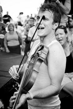Louis Michot of Lost Bayou Ramblers at Louisiana Cajun-Zydeco Fest!
