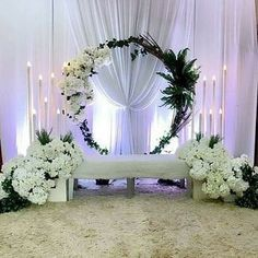 homeaccessories homeaccents Stage Decoration For Wedding Backdrop Design, Wedding Hall Decorations, Wedding Reception Backdrop, Wedding Mandap, Backdrop Decorations, Luxury Wedding Decor, Bow Wedding, Wedding Decoration, Wedding Things