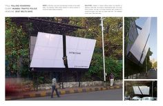 Seat Belts Save 42 Adverts That Break The Wall Guerilla Marketing Photo Guerilla Marketing, Street Marketing, Marketing And Advertising, Digital Marketing, Billboards Advertising, Mumbai, Creative Advertising, Advertising Ideas, Advertising Design