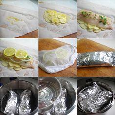 Pressure Cooker Technique: Pesce al Cartoccio - Fish in a Packet | hip pressure cooking - pressure cooker recipes & tips!