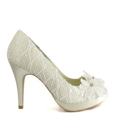 Bridal shoes (MARCELA, Menbur)