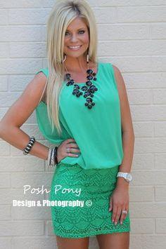 Posh Pony Boutique.. This dress >
