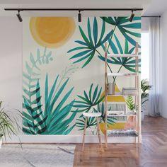 Mural Painting, Mural Art, Wall Murals, Garden Mural, Garden Art, Outdoor Wall Art, Outdoor Walls, Moroccan Garden, Room Decor