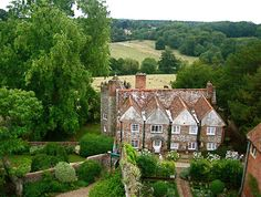 Greys court - view from the tower 1