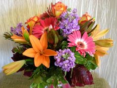 # Lilies Roses Gerberas Hd Flowers, Full Hd 1080p, Chrysanthemum, Carnations, Wallpaper Backgrounds, Floral Wreath, Bouquet, Lily, Plants