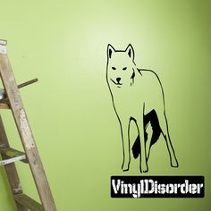 Wolf Wall Decal - Vinyl Decal - Car Decal - DC020