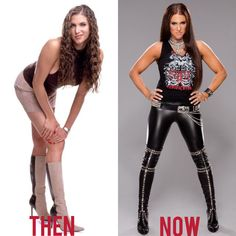 Stephanie McMahon I Love Both photos But I Love the Now very Hot sexy Tight Black Leather pants Wwe Divas Stephanie Mcmahon, Stephanie Mcmahon Hot, Wrestling Divas, Women's Wrestling, Wrestling Stars, Mcmahon Family, Daniel Bryan Wwe, Catch, Wwe Female Wrestlers
