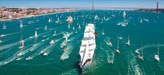 Tall Ships Races Lisboa 2016 - From 22 to 25 July 2016, Tall Ships from across the globe will anchor in Lisbon, Portugal for The Tall Ships Race 2016 - via Tall Ships Races Lisboa