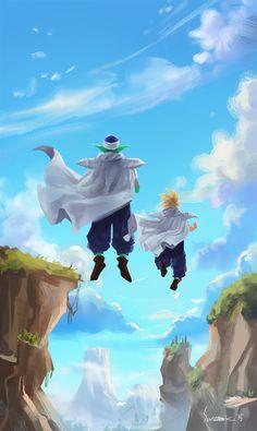 Piccolo and Gohan- Dragón Ball