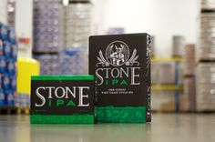 Stone Brewing IPA is now available in cans! #beer #craft #craftbeer #stone
