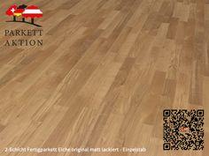 2-Schicht Fertigparkett Eiche original matt lackiert - Einzelstab Format: 490 x 70 x 11 mm 100 M2, Hardwood Floors, Flooring, Texture, Crafts, Wood Floor, Deck Flooring, Humidifier, Wood Floor Tiles