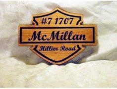 McMillan Classic Motorcycle Logo
