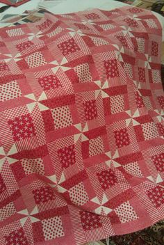 Red Quilts  http://www.snowbedding.com/