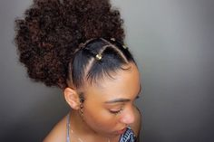 Your Hair Looking A Little Dull? Use This Great Advice To Get A Healthy Head Of Hair for all things natural hair + care! for all things natural hair + care! Natural Hair Updo, Pelo Natural, Natural Curls, Natural Hair Care, Black Girl Natural Hairstyles, Natural Baby, Styling Natural Hair, Kids Natural Hair, Natural Hair Braid Styles