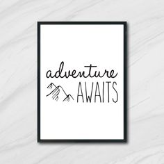 Printing Services, Online Printing, Printable Art, Printables, Adventure Awaits, Nursery Art, Digital Prints, Messages, Group