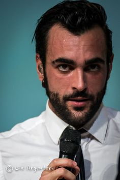 marco mengoni shared by Sof on We Heart It Marry Me, Bearded Men, Grand Prix, Find Image, We Heart It, Piercings, Handsome, Hipster, Singer