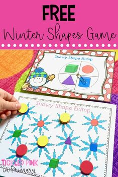 Hands-on activities for your Winter literacy and math centers. Number Sense Activities, Hands On Activities, Winter Activities, Literacy Activities, Math Games, 3d Shapes Kindergarten, Teaching Shapes, Kindergarten Math Activities, Kindergarten Classroom