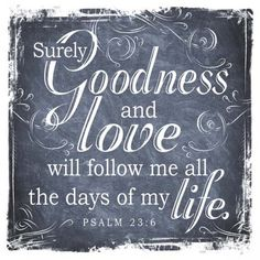 Goodness and love wooden decor block