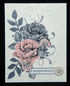 Wedding Blossoms by 3boymom - Cards and Paper Crafts at Splitcoaststampers