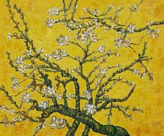 """branches of an almond tree in blossom"" — vincent van gogh"